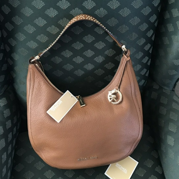 a3938d0165f7 Michael Kors Bags | Nwt Leather Lydia Medium Shoulder Bag | Poshmark